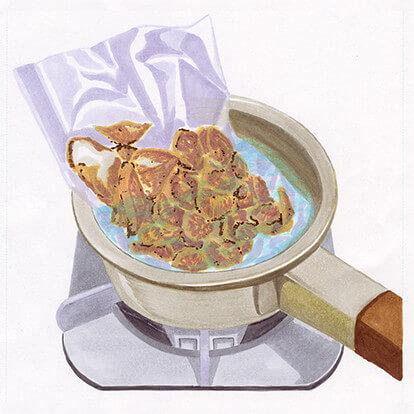 黒豚タン炭火焼の手順1
