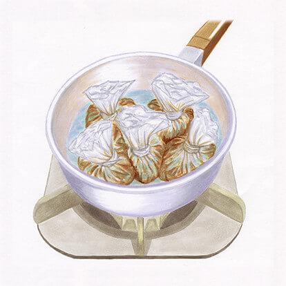 黒豚軟骨角煮の手順1